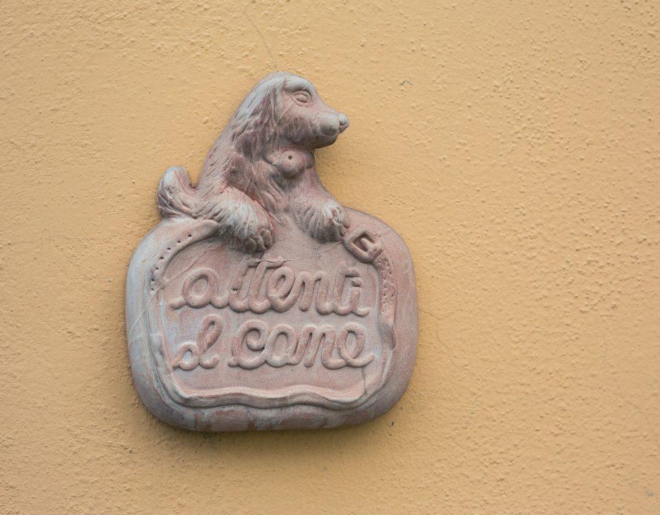 Attenti al cane - Veterinario San Bartolo, Firenze